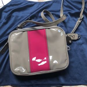 D&G Beige and Hot Pink Small Purse